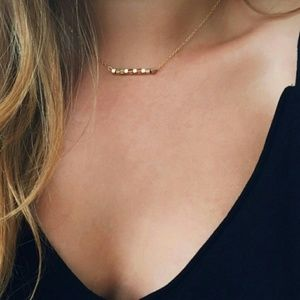 Jewelry - LAST ONE!! Gold Zinc Alloy Dainty Chain